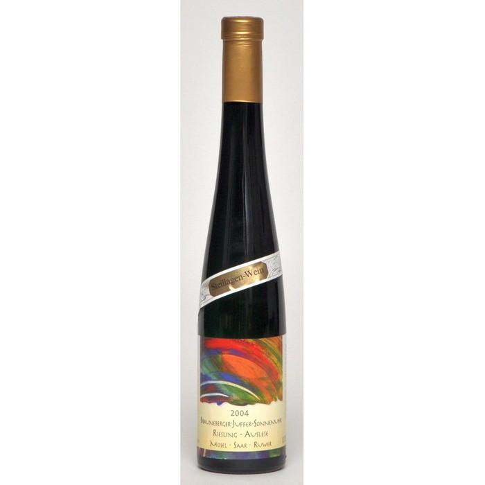 Weisswein 04er Juffer-Sonnenuhr Riesling süß Auslese Edelstahl 37