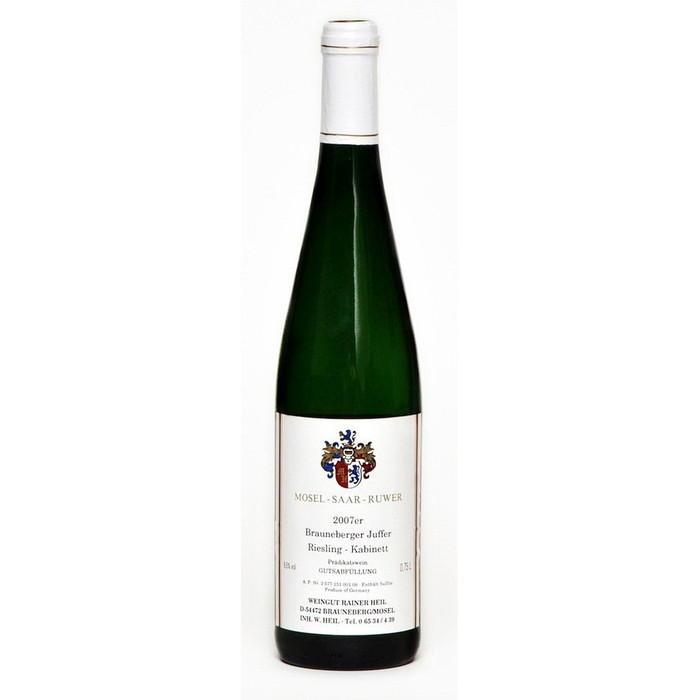Weisswein 07er Juffer Riesling süß Kabinett Edelstahl 75cl