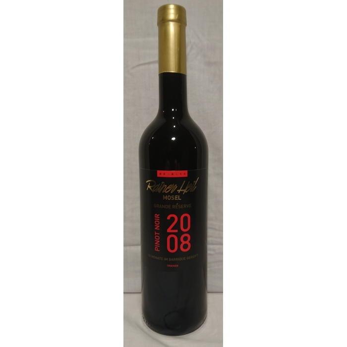 Rotwein 08er Kurfürstlay Grande Réserve Pinot Noir trocken Q.b.A. 78 M Barrique 75cl