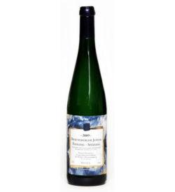 Weisswein 09er Juffer Riesling süß Spätlese  Edelstahl 75cl