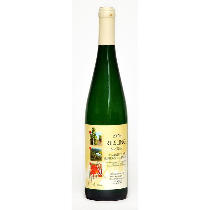 Weisswein 10er Juffer-Sonnenuhr Riesling edelsüß Spätlese  Edelstahl 75cl