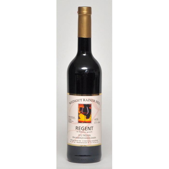 Rotwein 12er Mandelgraben Regent trocken Q.b.A. Holzfass 75cl