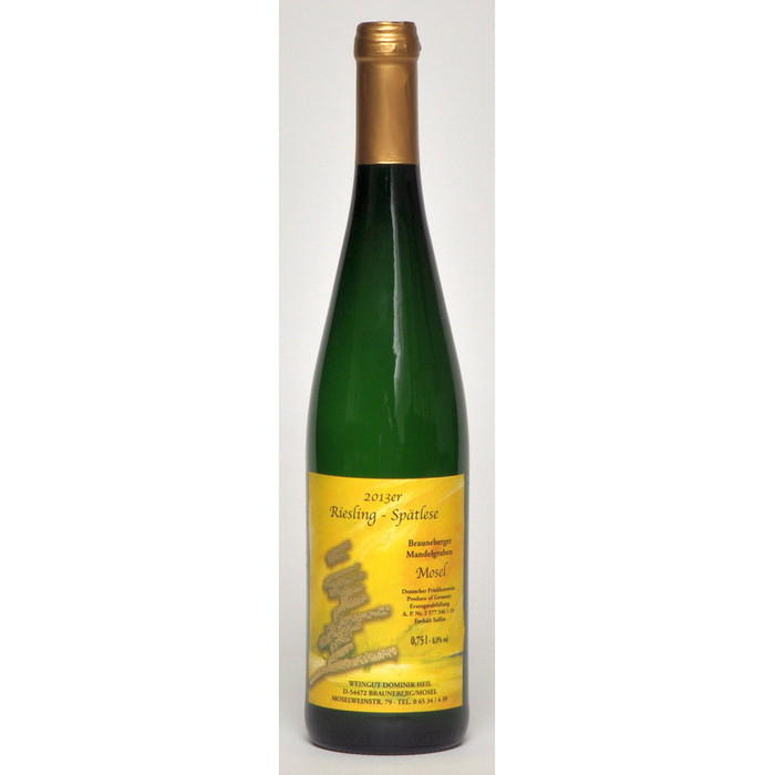 Weisswein 13er Mandelgraben Riesling süß Spätlese  Edelstahl 75cl