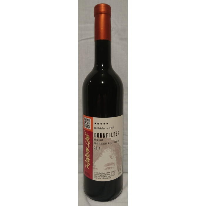Rotwein 14er Mandelgraben Dornfelder feinherb Q.b.A. Holzfass 75cl