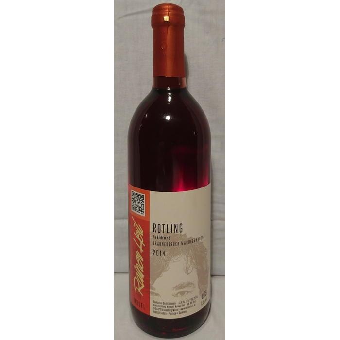 Rotwein 14er Mandelgraben Rotling feinherb Q.b.A. Edelstahl 75cl