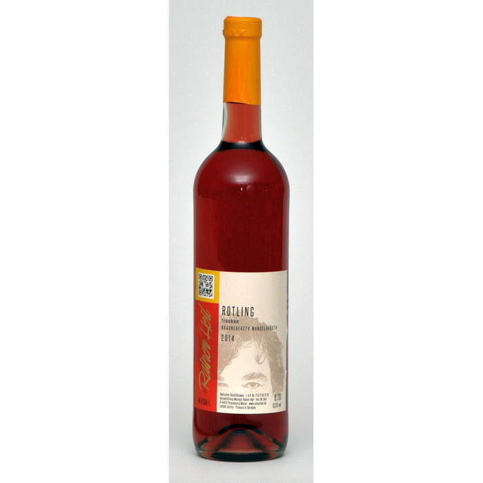 Rotwein 14er Mandelgraben Rotling trocken Q.b.A. Edelstahl 75cl
