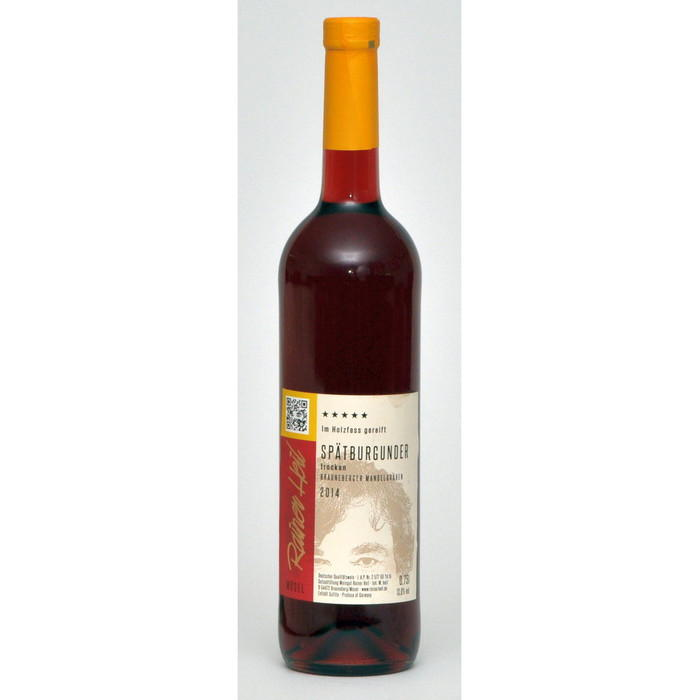 Rotwein 14er Mandelgraben Spätburgunder trocken Q.b.A. Holzfass 75cl