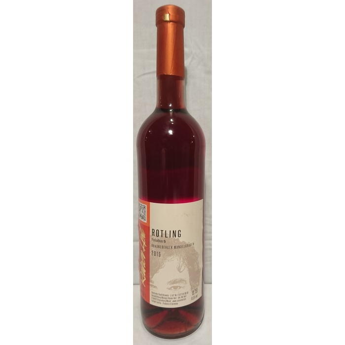 Rotwein 15er Mandelgraben Rotling feinherb Q.b.A. Edelstahl 75cl