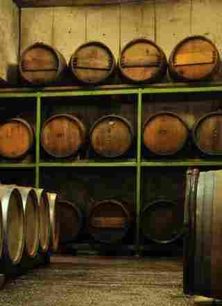 Weinkeller, in dem unser Wein lagert